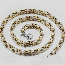 Fashion Mens Accessories Gold Chainmaille