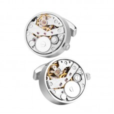 Fashion Mens Cufflinks Elegant Style Mechanism Cufflinks