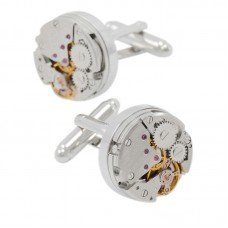 Wholesale Mens Cufflinks Elegant Style Mechanism Cufflinks for Business