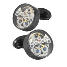 Elegant Style Mechanism Cufflinks for Business Party
