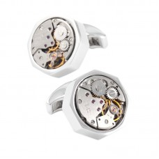 4 Colors Mens Cufflinks Elegant Style Mechanism Cufflinks