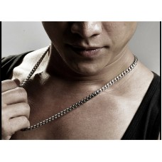 Chunky Necklace Mens Stainless Steel Necklace