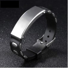 Classic Designs Jewelry Adjustable Silicone Bracelet OPIB1141